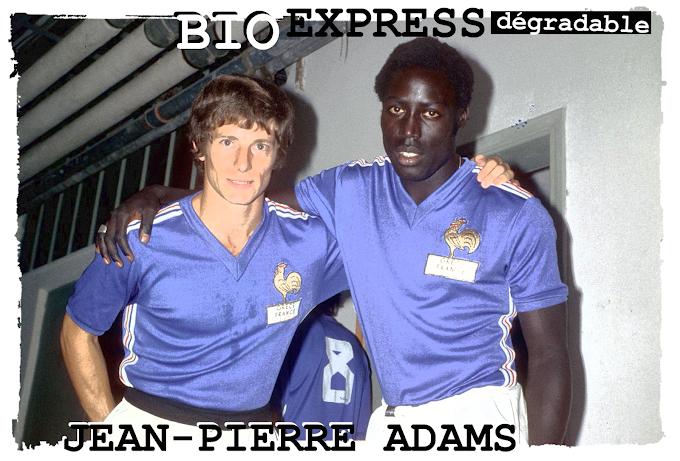 BIO EXPRESS DEGRADABLE. Jean-Pierre Adams.
