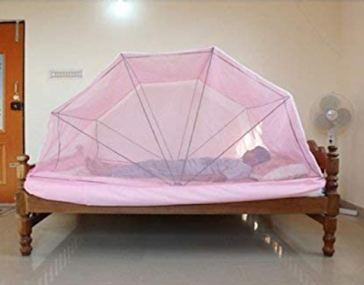 Comfort Foldable Poly Cotton Mosquito Net to Have a Restful Sleep Every Night
