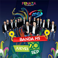 boletos banda ms fenaza 2018