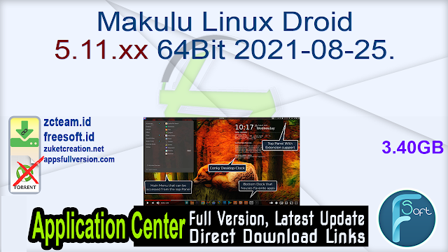 Makulu Linux Droid 5.11.xx 64Bit 2021-08-25.