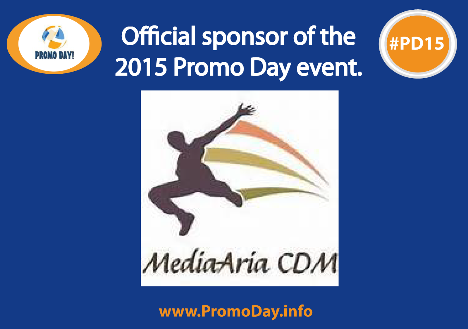Meet the #PD15 Sponsors, Mediaaria CDM, www.PromoDay.info