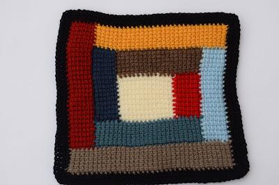 4 - Crochet Imagen Colcha de restos de lana a crochet y ganchillo por Majovel Crochet