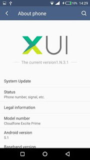XUI ROM PORTED TO CLOUDFONE EXCITE PRIME
