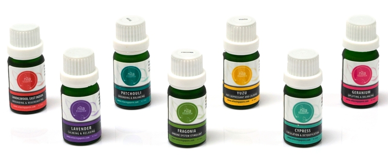 nila aromatherapy pure essential oils promotion