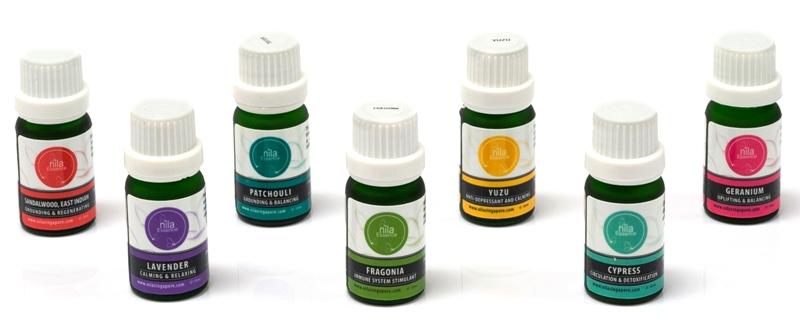 nila aromatherapy pure essential oils promotion