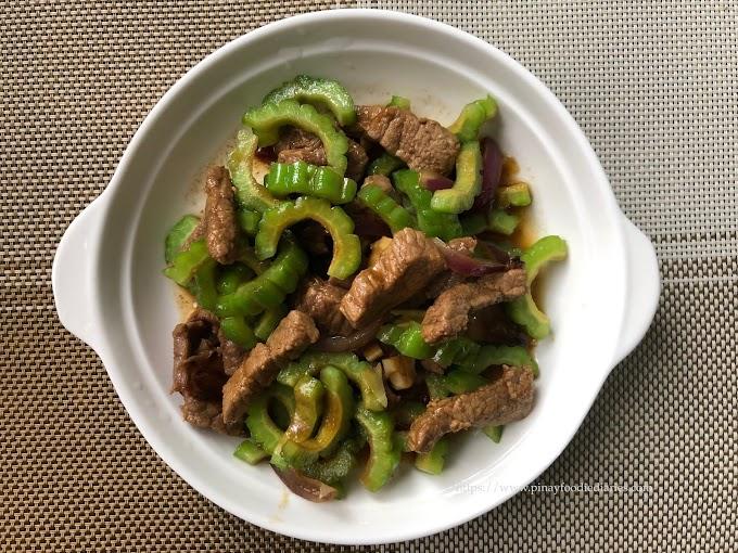 Recipes | Crunchy Ampalaya con Carne (Beef Ampalaya)