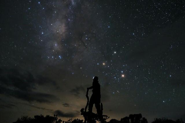 Ang aking Night shot sa Mt. Napulauan. Kuha ni Abbie Giron