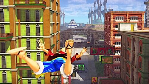 One Piece: World Seeker Gameplay