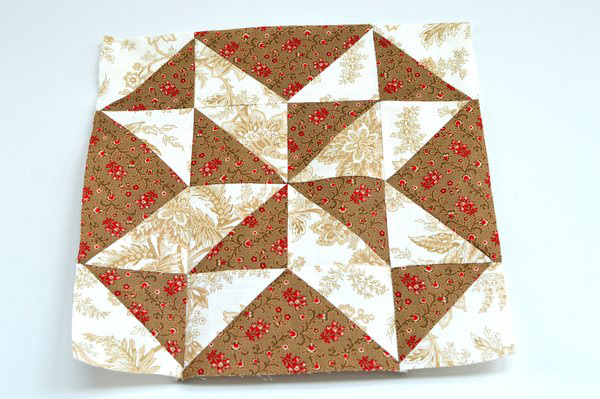 Pieced Star Quilt Block Tutorial