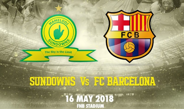 Mamelodi Sundowns FC vs Barcelona  Full Match And Highlights 16 May 2018