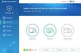 360 Total Security 8.8.0.1071 Terbaru