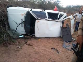 Mulher morre em acidente na BA-148
