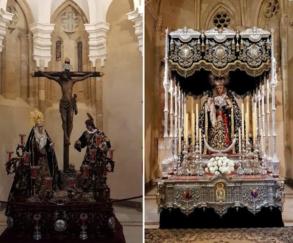 Ya esperan los titulares de las Penas de Santiago de Córdoba a su Domingo de Ramos
