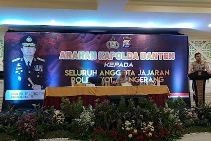 Kapolda Banten, Apresiasi Kapolresta Tangerang dalam Pelayanan dan Pelihara Keamanan Masyarakat.
