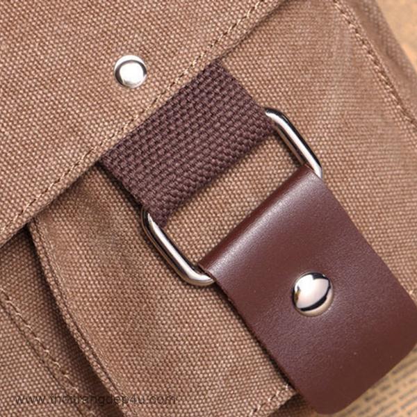 Túi đeo chéo vải bố thời trang VF280