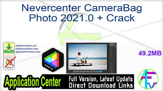 Nevercenter CameraBag Photo 2021.0 + Crack