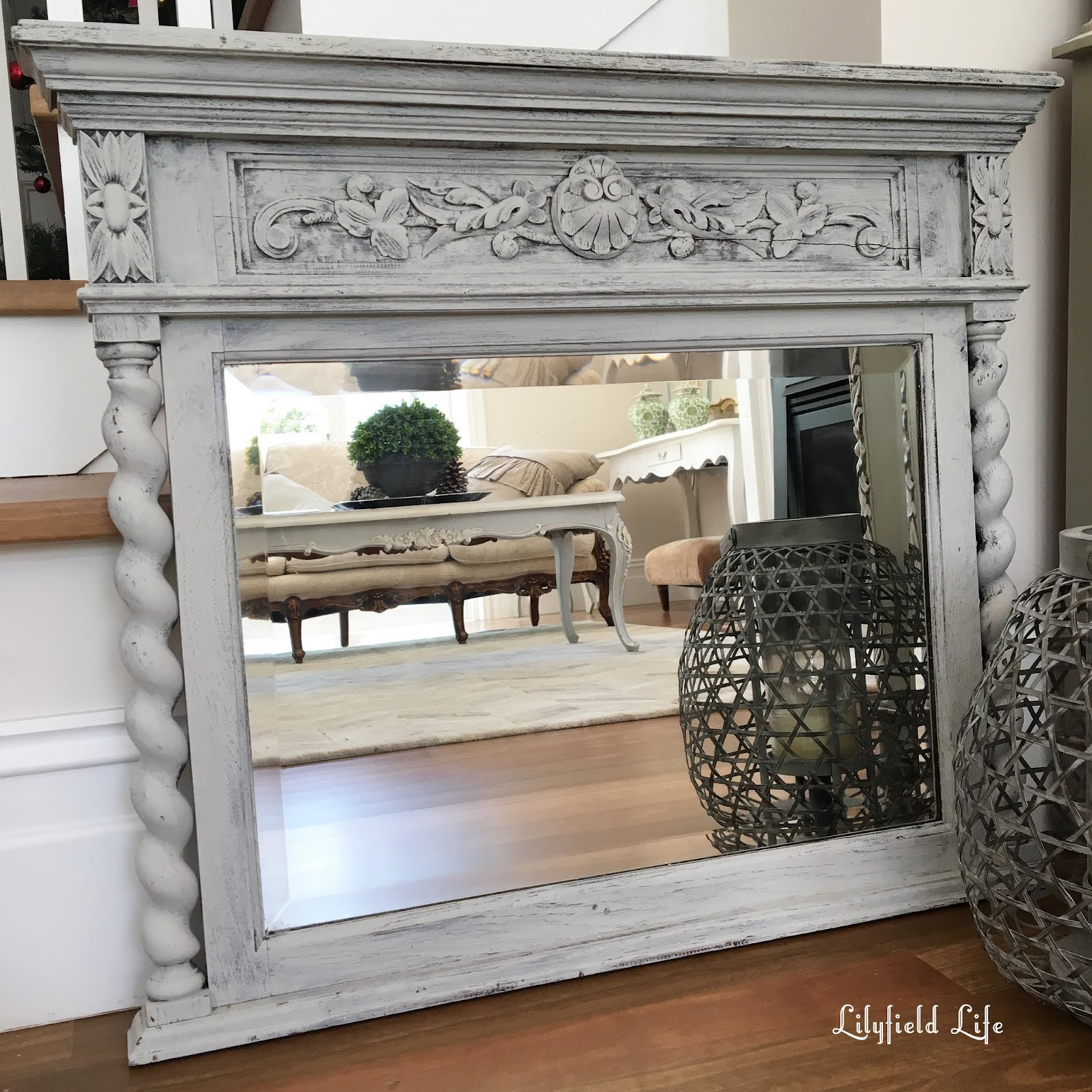 Lilyfield Life: Gorgeous Painted Vintage Mirrors