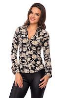 Camasa Rachel Neagra • Bluze si Camasi