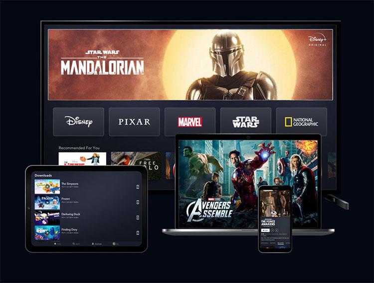 Disney+ plataforma VOD multiformato ahora a 5€ en junio, julio y agosto
