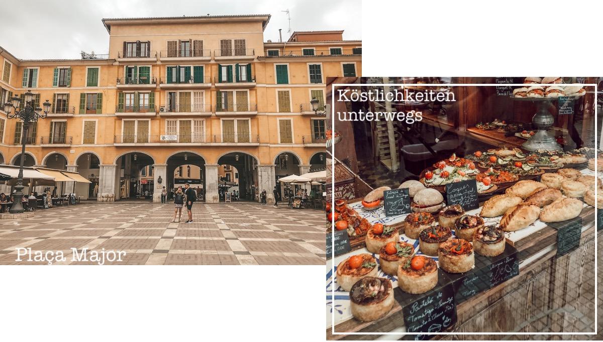 Sehenswerte Orte Mallorca Dörfer Städte Traveldiary Reisetipps Empfehlung Travelblog Palma Placa Major Shopping Food