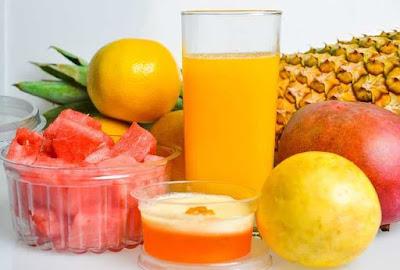 عصير البطيخ والاناناس فوائد ووصفات منعشة