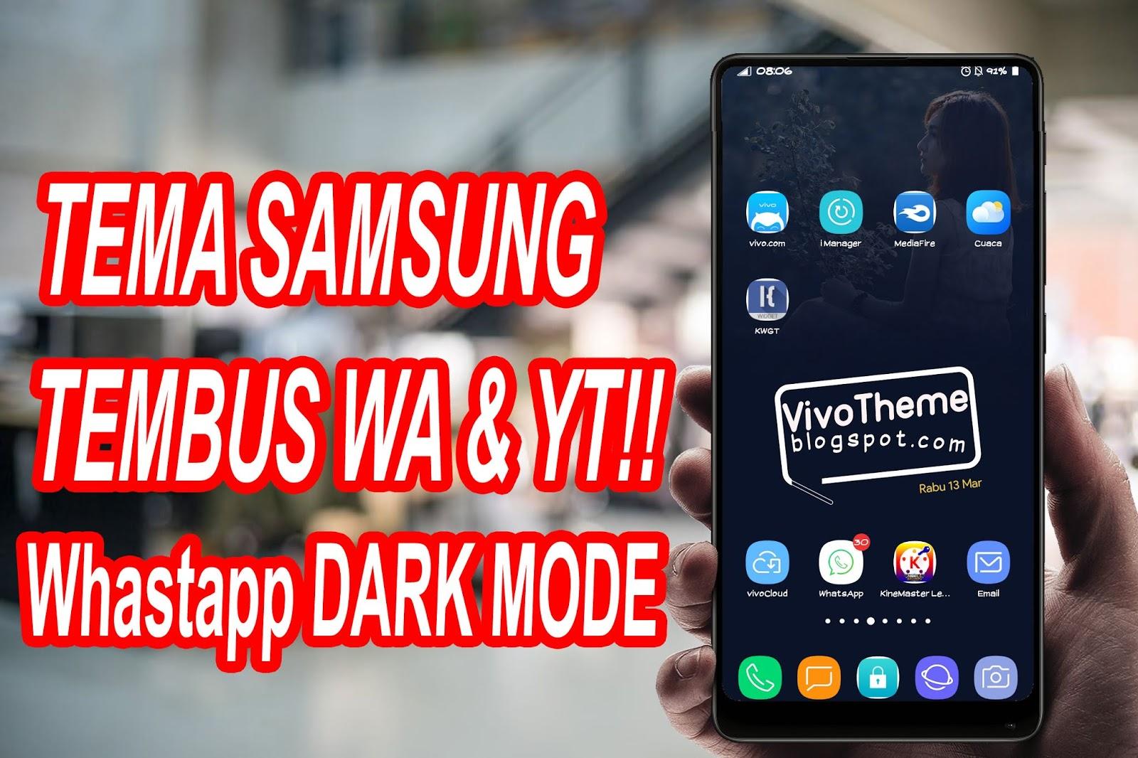 New Samsung Theme For Vivo Smartphone - Theme VIVO Terbaru