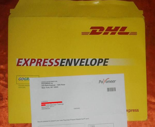 DHL Payoneer