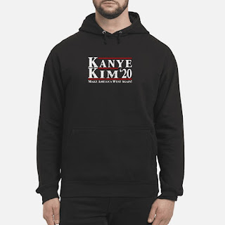 Kanye Kim '20 Make America West Again Shirt 4