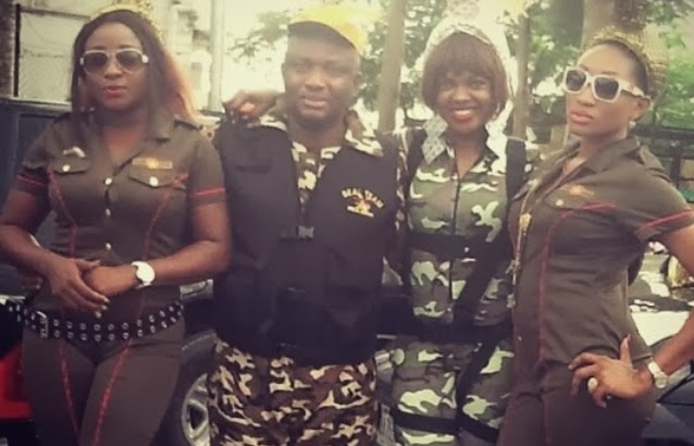 ini edo military uniform