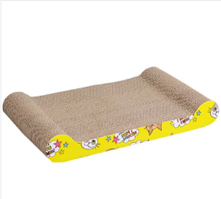 HanHanLeYuan Resistant Pet Cat Scratching Board Cat Toy - Camel brown