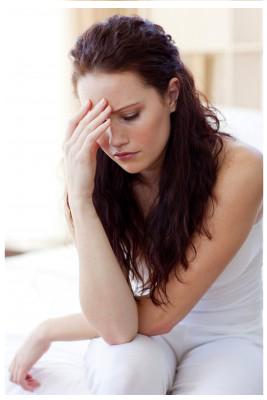 Mujer depresión