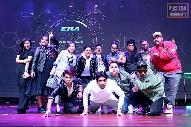 ERADMA turut menampilkan Nabil selaku hos acara dan beberapa artis tempatan turut membuat persembahan.