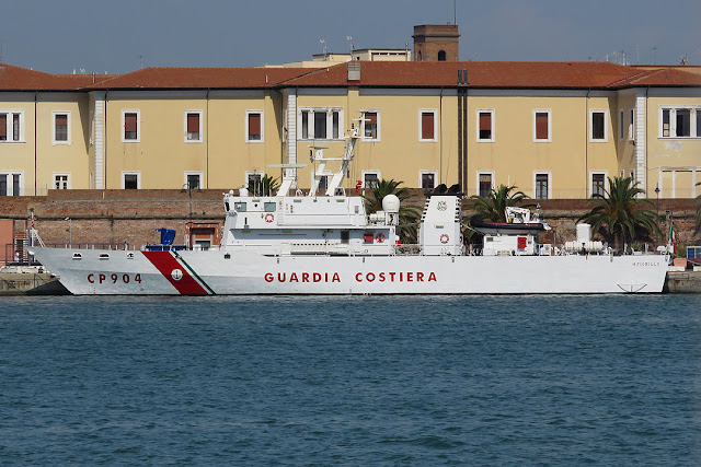 CP 904 Michele Fiorillo, port of Livorno