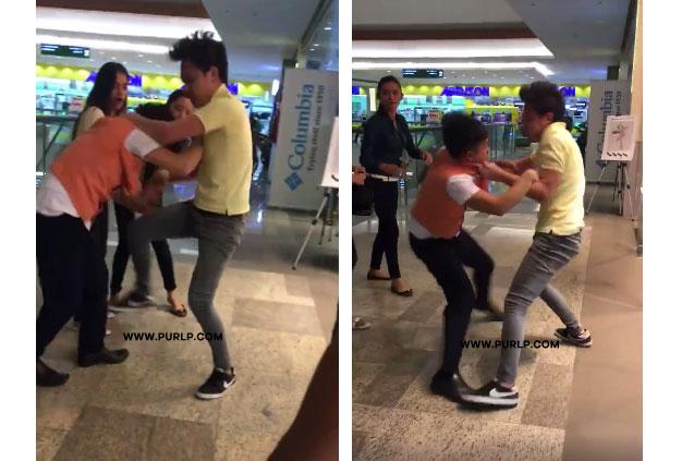 Two Boys Fighting In Veranza Mall, Gensan VIDEO 02