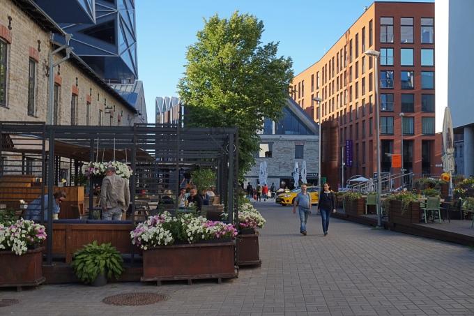 Rotermann City - edullisin alue Tallinnan keskustassa