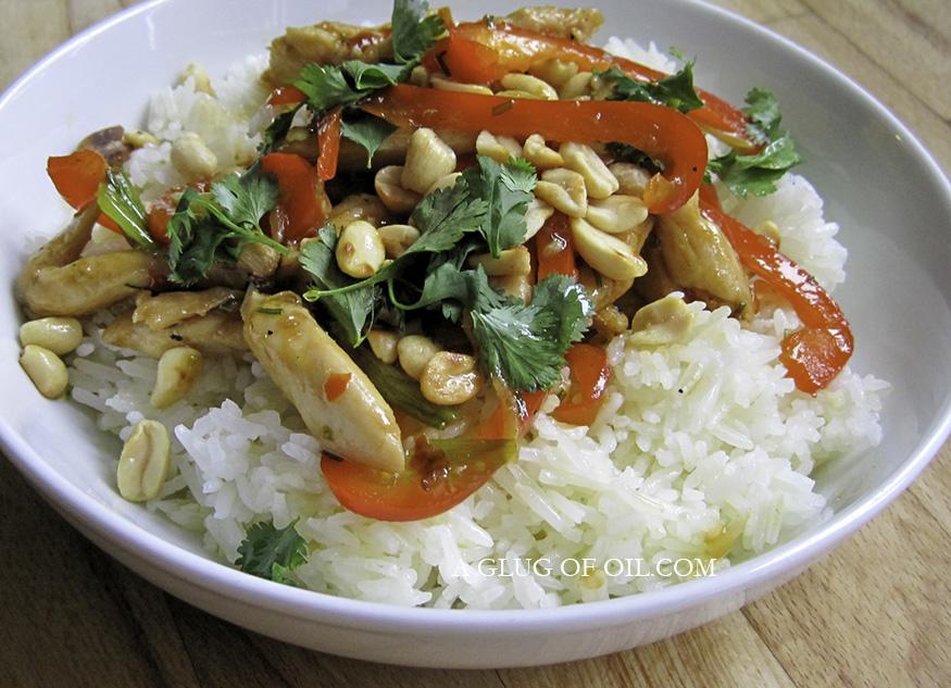 Szechuan Stir-fry with Jasmine Rice