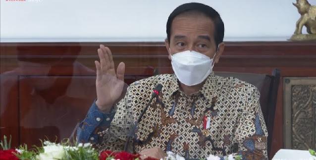 Kesal Ekonomi Turun Karena PPKM, Jokowi: Kalau Covidnya Turun Enggak Apa-Apa, Ini Enggak!