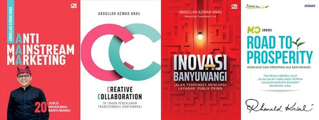 Buku marketing manajemen tentang Banyuwangi