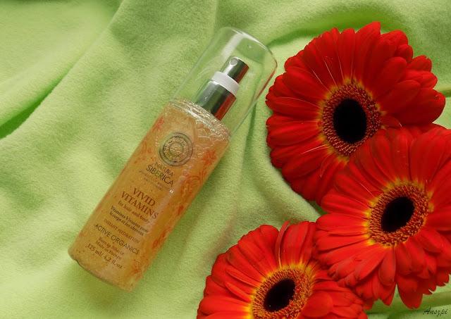 Żywe witaminy spray do włosów i ciała, Natura Siberica