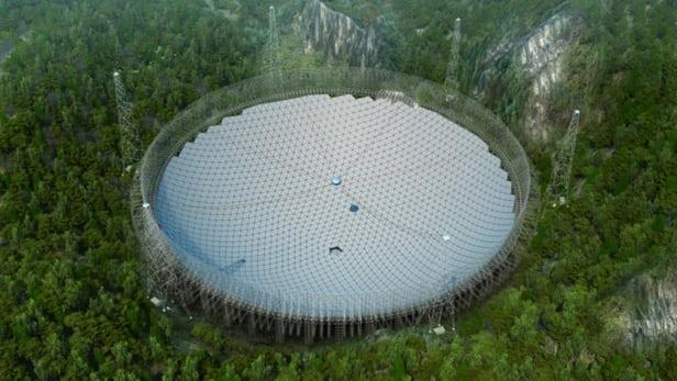 Teleskop Radio Terbesar Di Dunia Mula Beroperasi