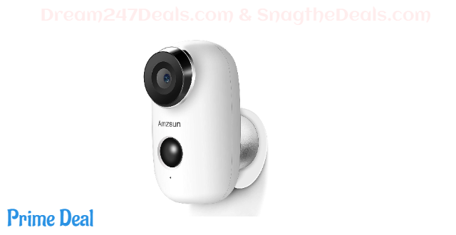 Wireless Battery Powered Camera with Rechargeable HD 1080P 40%off
