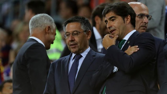 Bartomeu asked Real Betis for Quique Setién months ago