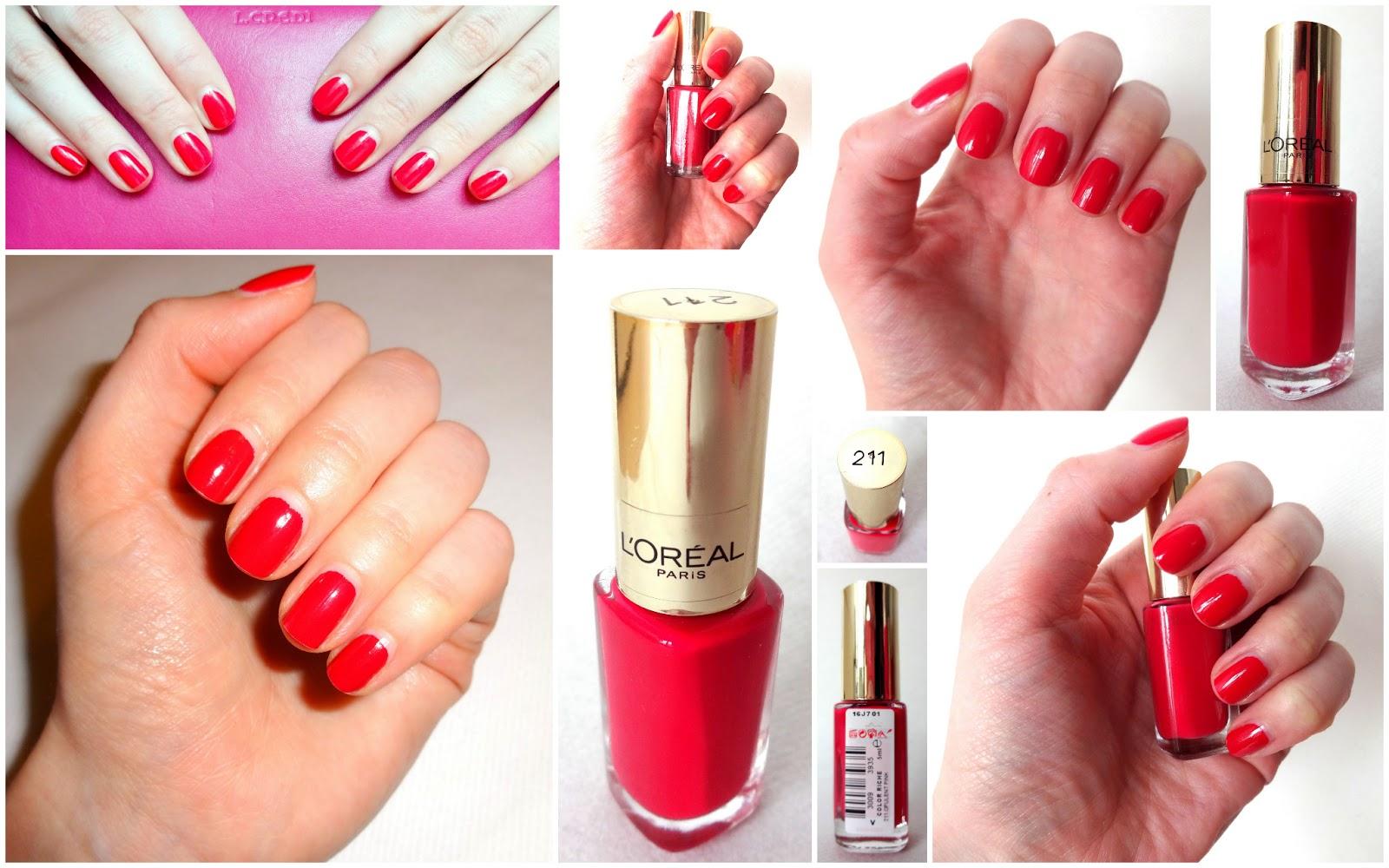 L'Oréal Color Riche Le Vernis 211 Opulent Pink