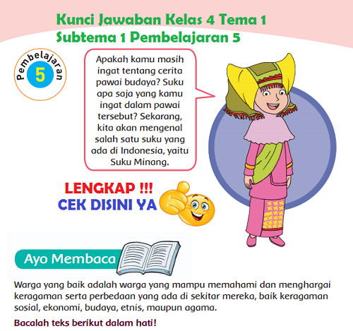 Kunci jawaban pendidikan agama islam dan budi pekerti (pai) kelas 4 kunci. Lengkap Kunci Jawaban Kelas 4 Tema 1 Subtema 1 Pembelajaran 5 Simple News Kunci Jawaban Lengkap Terbaru
