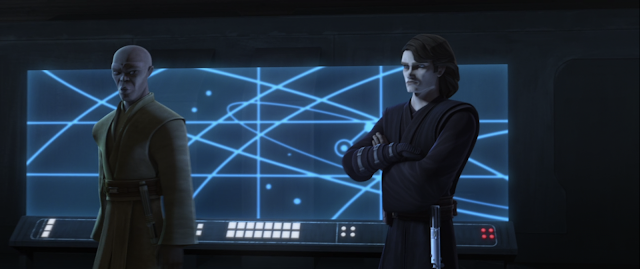 Mace Windu and Anakin Skywalker Unfinished Business Star Wars The Clone Wars