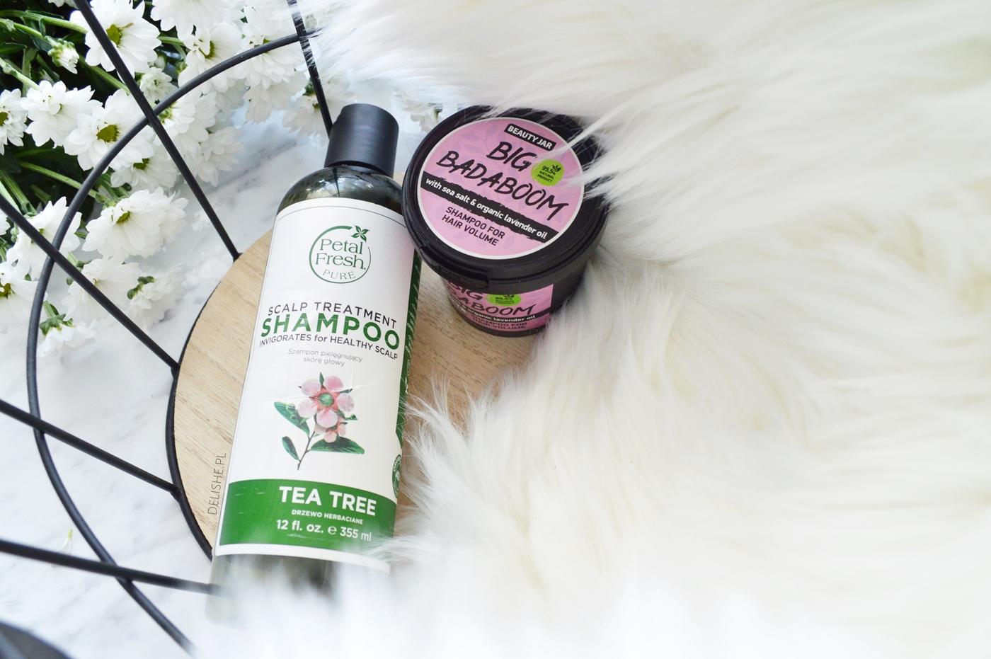 szampon do włosów Petal Fresh i Beauty Jar