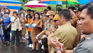 Resmikan Jembatan Kuwil, Bupati VAP Harap Bisa Tingkatkan Perekonomian Masyarakat