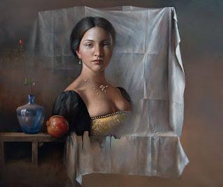 retratos-en-composiciones-de-naturalezas-muertas mujeres-y-bodegones-pinturas