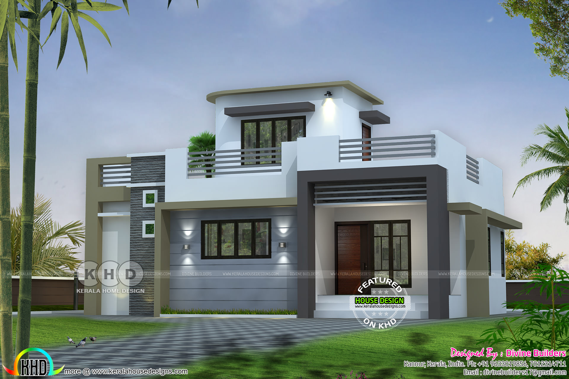 20 Lakh Home In Surat 20 Lakhs Cost Estimated 1227 Square Feet House Kerala