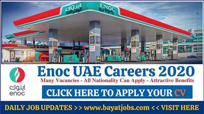 Enoc Careers In Dubai & Abu Dhabi Latest Jobs 2020